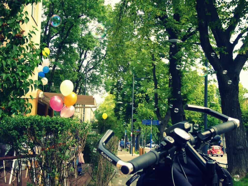 warszawskie klimaty rowerowe
