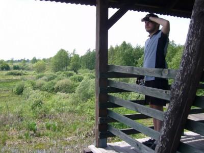 12. widok z wieży obserwacyjnej